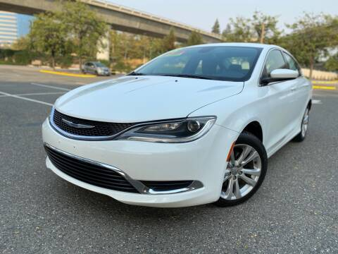 2015 Chrysler 200 for sale at Bay Auto Exchange in San Jose CA