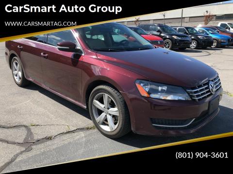 2013 Volkswagen Passat for sale at CarSmart Auto Group in Murray UT