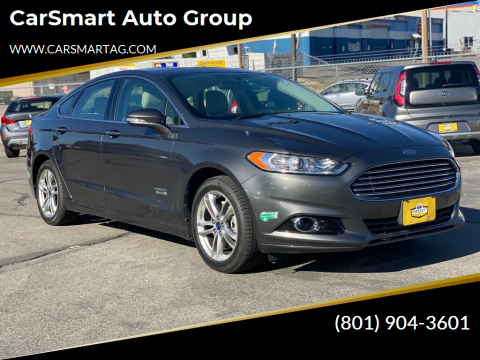 2015 Ford Fusion Energi for sale at CarSmart Auto Group in Murray UT