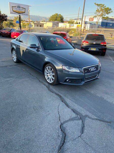 2011 Audi A4 for sale at CarSmart Auto Group in Murray UT