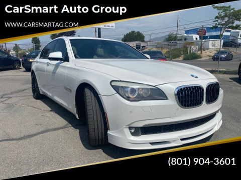 2011 BMW 7 Series for sale at CarSmart Auto Group in Murray UT