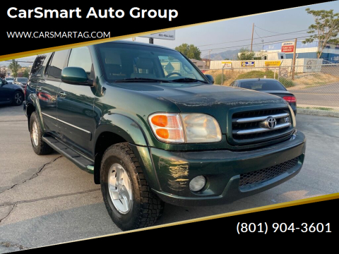 2002 Toyota Sequoia for sale at CarSmart Auto Group in Murray UT