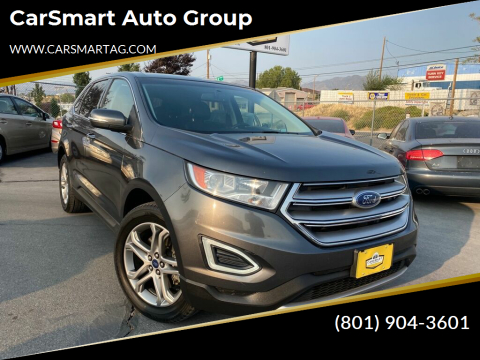 2015 Ford Edge for sale at CarSmart Auto Group in Murray UT