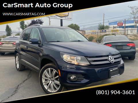 2013 Volkswagen Tiguan for sale at CarSmart Auto Group in Murray UT