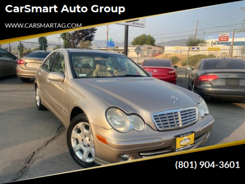 2005 Mercedes-Benz C-Class for sale at CarSmart Auto Group in Murray UT