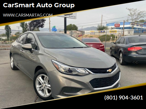 2017 Chevrolet Cruze for sale at CarSmart Auto Group in Murray UT