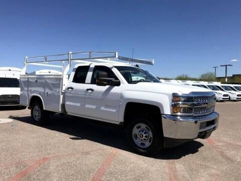 2019 Chevrolet Silverado 2500HD Work Truck for sale at AZ WORK TRUCKS AND VANS in Peoria AZ