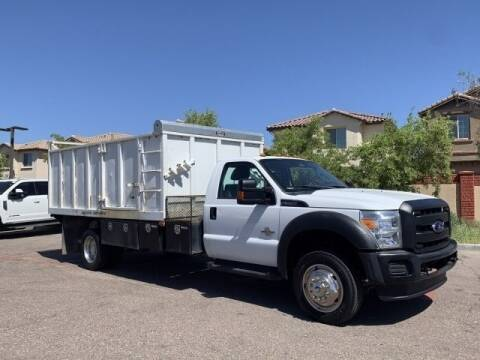 2016 Ford F-550 Super Duty for sale at AZ WORK TRUCKS AND VANS in Peoria AZ