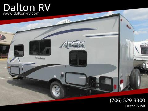 2020 Coachmen APEX NANO 185BH for sale at Dalton RV in Dalton GA