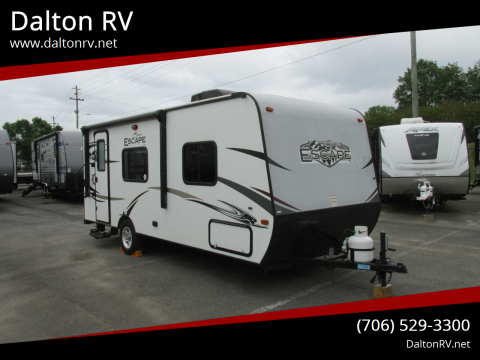 2016 KZ Spree Escape 190 for sale at Dalton RV in Dalton GA