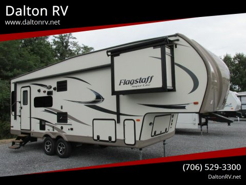 2017 Flagstaff 527RLWS for sale at Dalton RV in Dalton GA