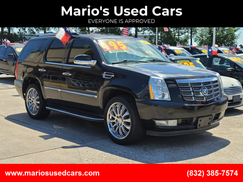 2011 Cadillac Escalade for sale at Mario's Used Cars in Houston TX