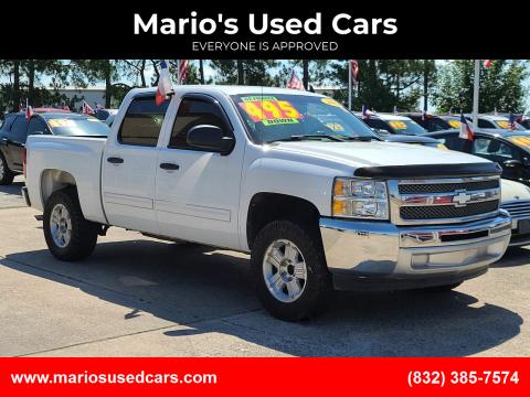 2012 Chevrolet Silverado 1500 for sale at Mario's Used Cars in Houston TX