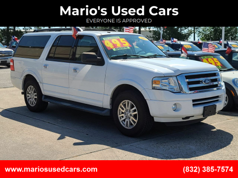 2011 Ford Expedition EL for sale at Mario's Used Cars in Houston TX