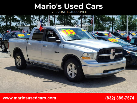 2010 Dodge Ram Pickup 1500 for sale at Mario's Used Cars in Houston TX