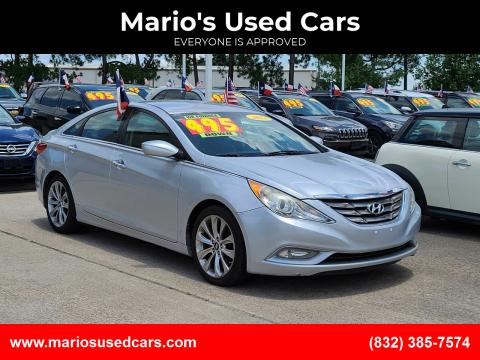 2013 Hyundai Sonata for sale at Mario's Used Cars in Houston TX
