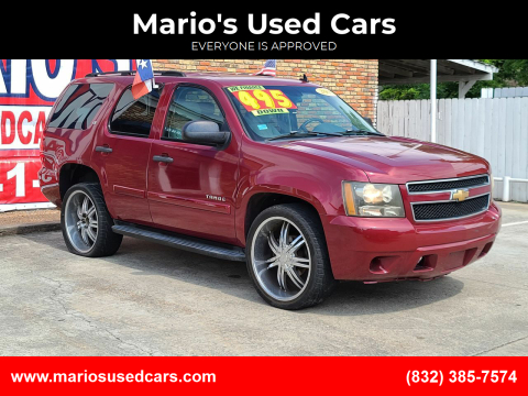 2007 Chevrolet Tahoe for sale at Mario's Used Cars - South Houston Location in South Houston TX