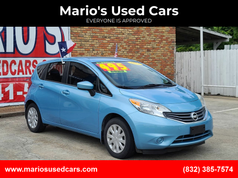 2015 Nissan Versa Note for sale at Mario's Used Cars - South Houston Location in South Houston TX