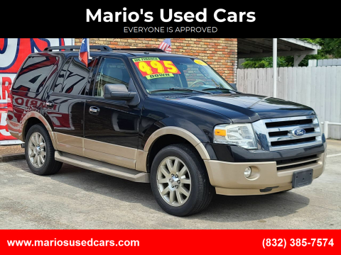 2011 Ford Expedition for sale at Mario's Used Cars - South Houston Location in South Houston TX