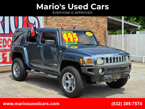 2006 HUMMER H3 for sale at Mario's Used Cars - South Houston Location in South Houston TX