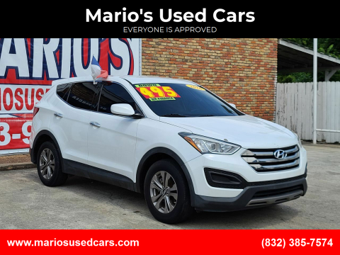 2016 Hyundai Santa Fe Sport for sale at Mario's Used Cars - South Houston Location in South Houston TX