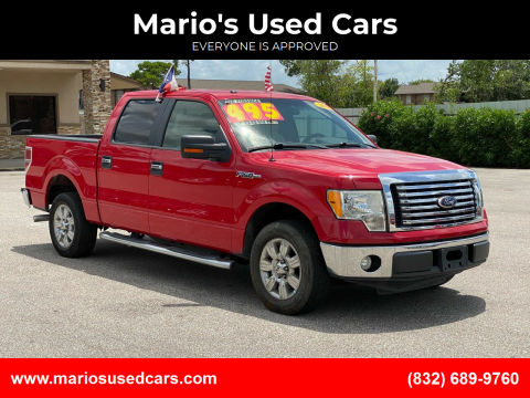 2010 Ford F-150 for sale at Mario's Used Cars - Pasadena Location in Pasadena TX