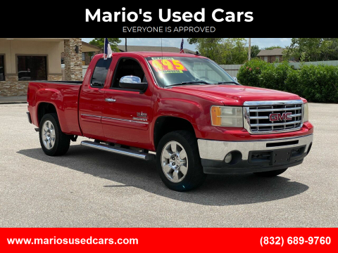 2011 GMC Sierra 1500 for sale at Mario's Used Cars - Pasadena Location in Pasadena TX