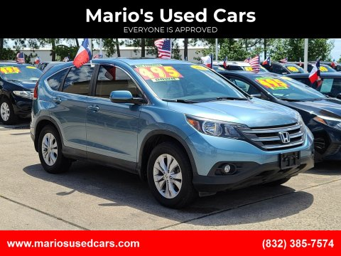 2014 Honda CR-V for sale at Mario's Used Cars in Houston TX