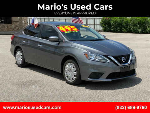 2017 Nissan Sentra for sale at Mario's Used Cars - Pasadena Location in Pasadena TX