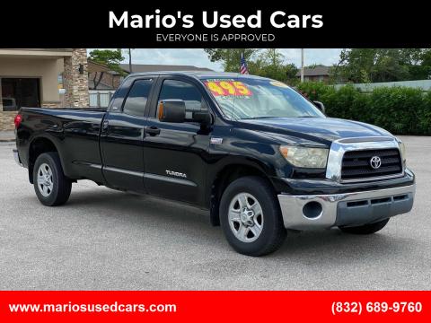 2007 Toyota Tundra for sale at Mario's Used Cars - Pasadena Location in Pasadena TX