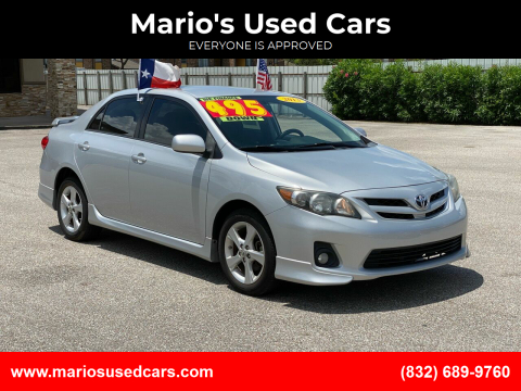 2013 Toyota Corolla for sale at Mario's Used Cars - Pasadena Location in Pasadena TX