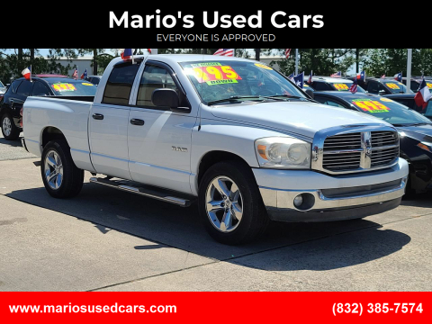 2008 Dodge Ram Pickup 1500 for sale at Mario's Used Cars in Houston TX