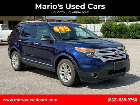 2011 Ford Explorer for sale at Mario's Used Cars - Pasadena Location in Pasadena TX