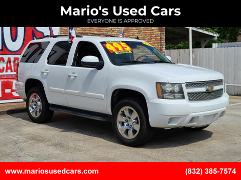 2008 Chevrolet Tahoe for sale at Mario's Used Cars - South Houston Location in South Houston TX