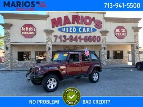 2007 Jeep Wrangler Unlimited for sale at Mario's Used Cars - Pasadena Location in Pasadena TX