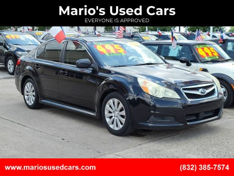 2011 Subaru Legacy for sale at Mario's Used Cars in Houston TX