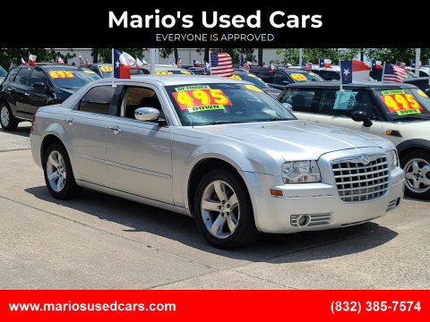 2010 Chrysler 300 for sale at Mario's Used Cars in Houston TX