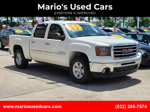 2013 GMC Sierra 1500 for sale at Mario's Used Cars in Houston TX