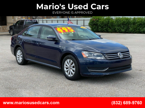 2014 Volkswagen Passat for sale at Mario's Used Cars - Pasadena Location in Pasadena TX