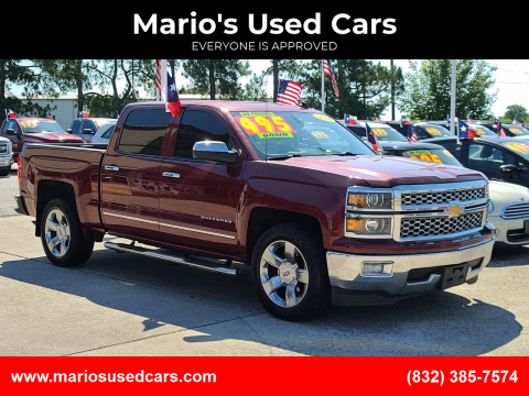 2014 Chevrolet Silverado 1500 for sale at Mario's Used Cars in Houston TX