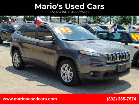 2018 Jeep Cherokee for sale at Mario's Used Cars in Houston TX