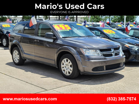 2018 Dodge Journey for sale at Mario's Used Cars in Houston TX