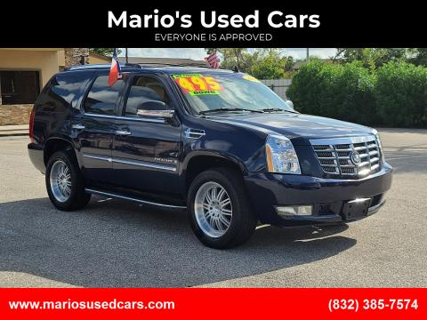 2007 Cadillac Escalade for sale at Mario's Used Cars - Pasadena Location in Pasadena TX