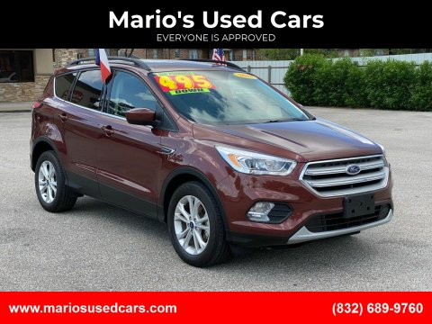 2018 Ford Escape for sale at Mario's Used Cars - Pasadena Location in Pasadena TX
