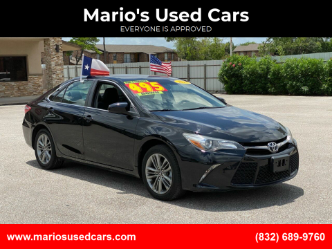 2017 Toyota Camry for sale at Mario's Used Cars - Pasadena Location in Pasadena TX
