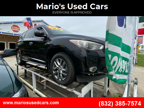 2014 Infiniti QX60 for sale at Mario's Used Cars - South Houston Location in South Houston TX