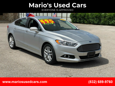 2015 Ford Fusion for sale at Mario's Used Cars - Pasadena Location in Pasadena TX