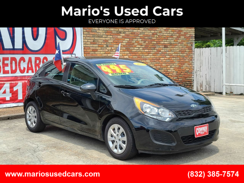 2013 Kia Rio 5-Door for sale at Mario's Used Cars - South Houston Location in South Houston TX
