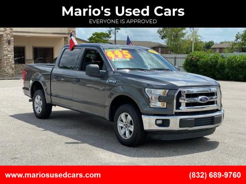 2015 Ford F-150 for sale at Mario's Used Cars - Pasadena Location in Pasadena TX