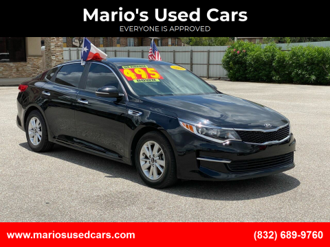 2016 Kia Optima for sale at Mario's Used Cars - Pasadena Location in Pasadena TX
